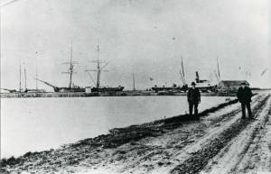 skibe i havnen