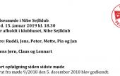 Referat fra bestyrelsesmøde de 15-01-2019