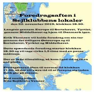 Sejltur gennem Europa