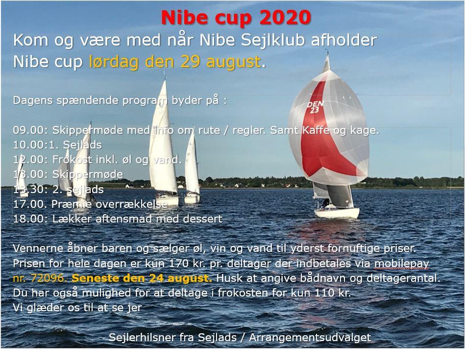 Nibe Cup 2020 – Husk tilmeding