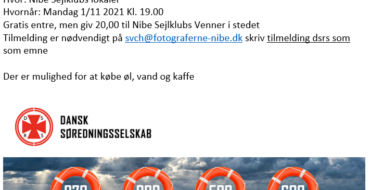 Foredrag med Dansk Søredningsselskab DSRS